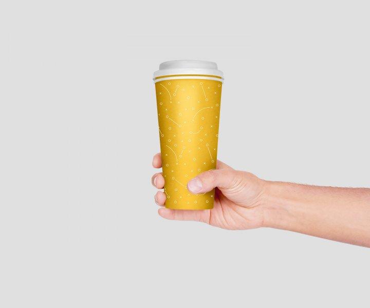 Vaso Café Personalizado Vaso de plástico personalizado