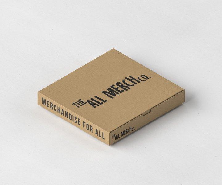 Pizza Box Packaging Mockup by Anthony Boyd Graphics. Cajas personalizadas, cajas de pizza mayorista, distribuidor cajas pizza